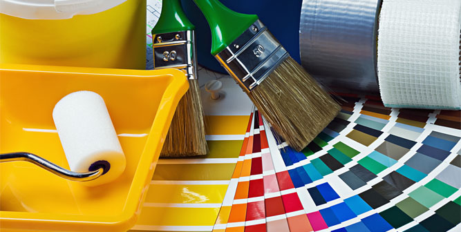 PAINT AND CLEANING SUPPLIES